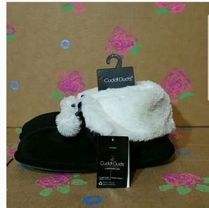 Cuddl Duds Boot Slippers